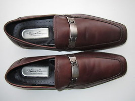 Kenneth Cole New York Men's Block Engine Loafers Shoes Brown 12M - $61.74