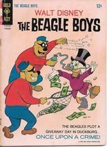Walt Disney The Beagle Boys Comic Book #5 Gold Key 1967 VERY GOOD/VERY G... - $6.89