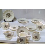 Vintage Ceramic Tea Set with Owls In A Tree - $14.00
