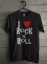 I love rock n' roll - Custom Men's T-Shirt (3403) - $19.13+