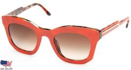 New Stella Mc Cartney Sm 4051 2101/13 Orange /BROWN Gradient Lens Sunglasses 48mm - $73.76