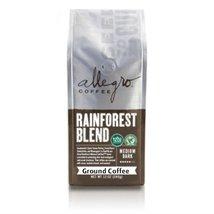 2 - 12oz Bags of Allegro Ground Coffee (Rainforest Blend) - $36.25