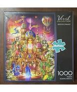 """Krystol's Castle"" Vivid Collection Buffalo Games 1000 piece puzzle #11700 - $11.43"