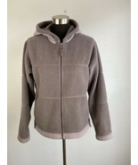 Vintage Patagonia Synchilla Womens Jacket M Medium Hooded Full Zip Gray ... - $69.29