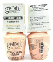 Harmony Gelish Soak Off- STRUCTURE GEL COVER PINK .5oz/15ml - $14.84