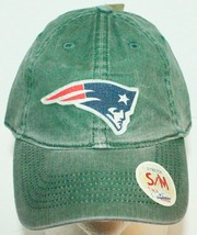 New England Patriots Adult S/M Green Stretch Slouch Hat Nfl Football Reebok New - £12.01 GBP