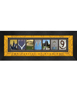 University of Wyoming Officially Licensed Framed Campus Letter Art - $39.95