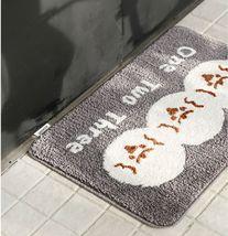 Romane Bathroom Floor Foot Rug Mat Non Slip Indoor Door Bath Matt (1,2,3 Print) image 5