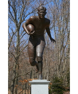 Jim Thorpe Football Statue 13 x 19 Unmatted Photograph - $35.00