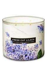 BATH & BODYWORKS Fresh Cut Lilacs 14.5 OuncesThree Wick Candle - $28.48