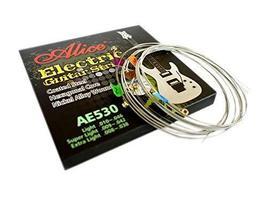 Nickel Alloy Wound Regular Electric Guitar Strings, 6 Strings (.010- .046)
