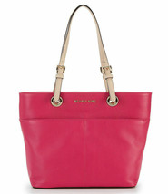 NEW! Michael Kors Bedford Top Zip Pocket Tote Bag-Ultra Pink - $178.08