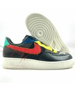 Nike Air Force 1 Low BHM Black History Month Grey Red CT5534-001 Men's s... - $64.99