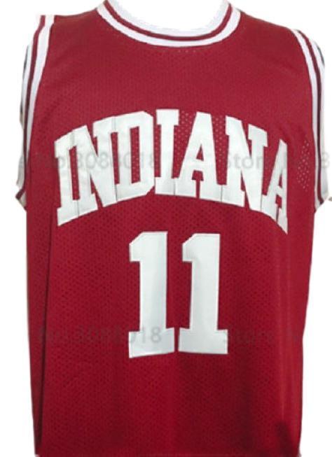 Isiah thomas  11 college basketball jersey maroon   1