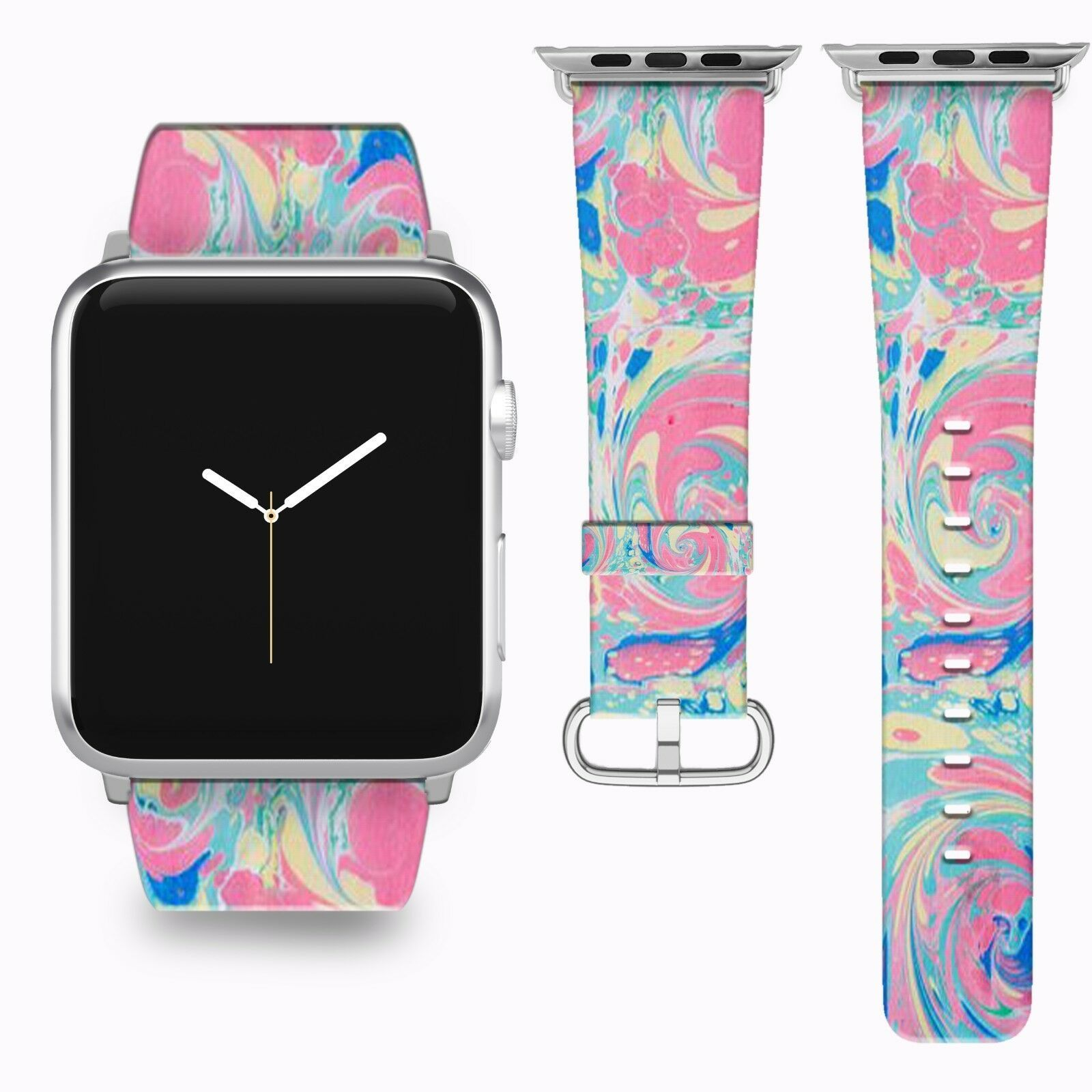Primary image for Vintage Abstraction Apple Watch Band 38 40 42 44 mm Series 1 2 3 4 Wrist Strap 1