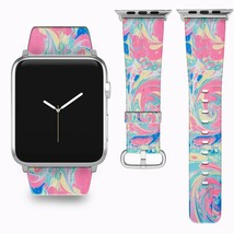 Vintage Abstraction Apple Watch Band 38 40 42 44 mm Series 1 2 3 4 Wrist... - $22.53+