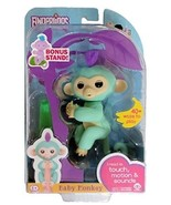 Fingerlings Baby Monkey - Zoe - Turquoise (Includes Bonus Stand) - $59.99