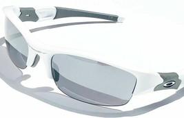 Oakley OO9008 03-882 6314 FLAK JACKET White Black Iridium Lens Sunglasses - $96.03