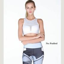 Women Sports Bra Fitness Yoga Sexy One Shoulder Athletic Underwear Worko... - $14.81+