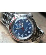 Russian Mechanical Automatic Wrist Watch VOSTOK AMPHIBIAN DIVE GRU 420866 - $72.52