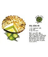 GRAN'MA GOLDS' ORIGINAL Key Lime & Southern Pecan Pies  TWO FL Recipe Po... - $6.91