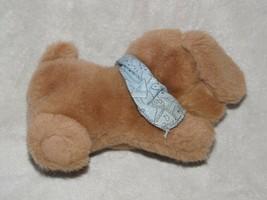 "1988 Commonwealth Tan PUPPY DOG Plush Blue Bandanna Golden Retriever Lab 8"" - $34.64"