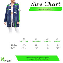 Women's Oversized Casual Cotton Button Up Distressed Long Denim Jean Jacket image 2