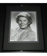 Barbara Bel Geddes Signed Framed 8x10 Photo Dallas Vertigo Panic in the ... - $197.99