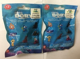 SET OF 2 DISNEY PIXAR FINDING DORY COLLECTIBLE FIGURES, FREE SHIPPING - $13.37