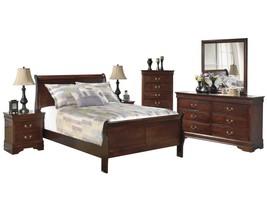 Ashley Alisdair 6PC Bedroom Set E King Sleigh Bed - Brown - $2,160.19