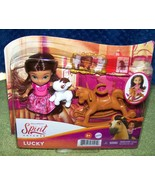 Dreamworks Spirit UNTAMED Young Lucky&  Accessories Set New - $16.50