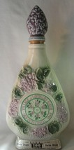 Lombard Lilac Village IL Centennial 1969 Lilac Jim Beam Bourbon Bottle Pretty - $25.00