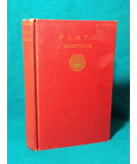 1927 Plato Selections Collection Plato's Philosophical Works Greek Philo... - $13.36