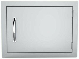 Outdoor Kitchen Storage Access Door 14 in. x 20 in. Horizontal Stainless... - $156.45