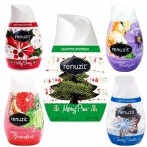 5 Renuzit Simply Refreshed Collection Gel Air Freshener Christmas Fragra... - $14.99
