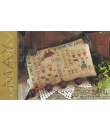 May Word Play cross stitch chart  With Thy Needle Brenda Gervais  - $9.00