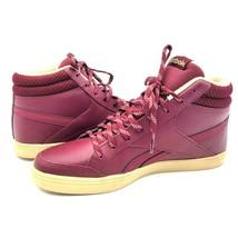 Reebok Womens Royal Aspire 2 Walking Shoe Rustic Wine Burgundy Maroon Sz 7 - $29.88