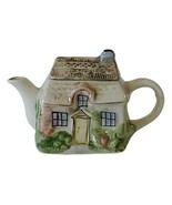 """Vintage Miniature Cottage Teapot With Lid Approximately 3.25"""" Tall - $9.49"""