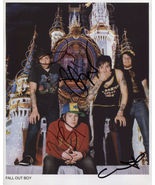 Fall Out Boy FULLY SIGNED Photo + COA Lifetime Guarantee - $149.99