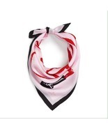"NWT Kate Spade New York ""LOVELY"" Lipstick Pure  Silk Scarf MSRP $78 - £30.59 GBP"