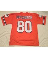 UNSIGNED CUSTOM Sewn Stitched Rick Upchurch Orange Jersey - M, L, XL, 2XL - $33.99