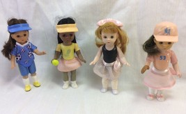 Madame Alexander Collection Figurines,Sports, Tennis, Dancer, Baseball, Soccer. - $9.25
