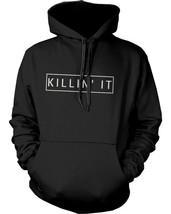 Killin' It Graphic Hoodie Trendy Hooded Sweatshirt Pullover Fleece Sweater - $25.99+