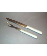 Vintage Carving Set - Fork & Very Sharp Knife - Unsigned  - $14.50
