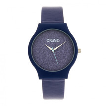 Crayo Glitter Strap Watch - Purple - £113.26 GBP