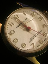 """Vintage Silver Montreluxe 1 1/8"""" watch (No band)  image 5"""