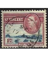 St Vincent 1938-47 Scott# 142 Used - $0.07
