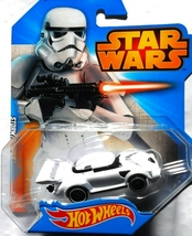 Hot Wheels Star Wars Character Car Stormtrooper released 2015 - $5.49