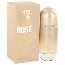 212 VIP Rose by Carolina Herrera Eau De Parfum Spray 2.7 oz for Women - ... - $79.47