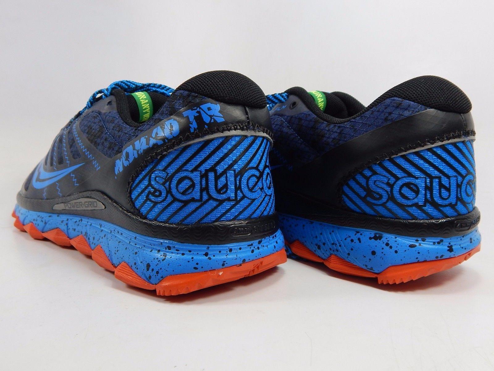 Saucony Nomad TR Men's Trail Running Shoes Size US 9 M (D) EU 42.5 Navy S20287-5